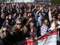В Афинах протестуют сотни учителей