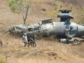 В Венесуэле во время учений упал военный вертолет
