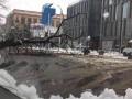 Снегопад в Днепре побил рекорд 1902 года: погибли тысячи деревьев