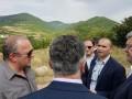 Порошенко показали оккупантов на границе с Южной Осетией