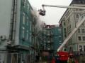 В центре Киева возник пожар в ресторане