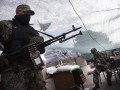 На границе с оккупированным Крымом на военных напало НВФ