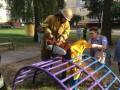 В Славутиче спасатели вытащили мальчика из ловушки на детплощадке