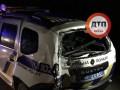 При аварии с полицией в Северодонецке пострадали шесть человек