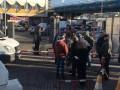 В Днепре бойцы АТО заблокировали автовокзал