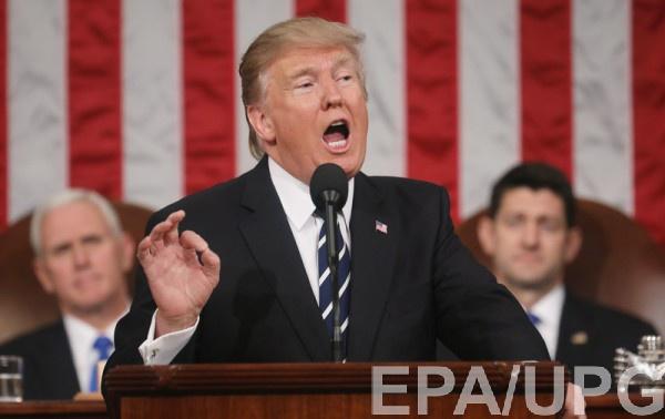 Репетицию речи Трампа запечатлели на видео