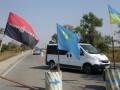 Правый сектор учит милицию, как себя вести на границе Крыма