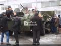 Волонтеры зафиксировали на Донбассе новые боевые машины РФ
