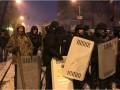 В Киеве пытались взять штурмом палаточный городок Саакашвили
