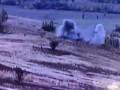Появилось видео уничтожения позиции сепаратистов на Донбассе