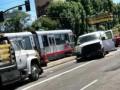 В Сан-Франциско поезд столкнулся с автобусом