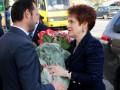 Супруга Януковича в свой день рождения посетила конкурс красоты