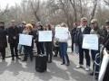Киевляне разобрали веревочный парк на Русановке