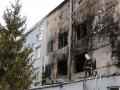 В Харькове горел мясокомбинат