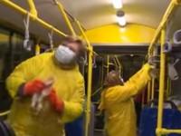В Киеве троллейбусы дезинфицируют из-за эпидемии гриппа