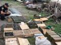 В Луганской области нашли большой тайник