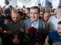 Саакашвили о случайной встрече с Порошенко: Думали, я его покусаю