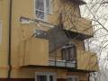 Обрушение балкона казармы в Ивано-Франковской области считают несчастным случаем