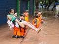В Китае сильнейшее за 40 лет наводнение. Фоторепортаж