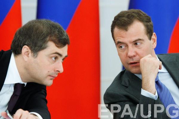 Вместо Пескова в Луганск приехал Сурков