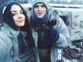 Руфер Мустанг привез гуманитарку украинским воинам в Пески