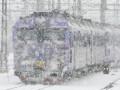 На ЮЖД произошла задержка движения поездов из-за резкого понижения температуры
