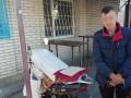 Под Киевом мужчина ограбил церковь и пытался удрать на чужом мопеде