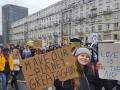 В Варшаве молодежь вышла на протесты против изменения климата