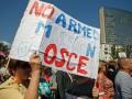 В Горловке боевики провели митинг против ОБСЕ