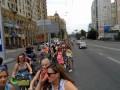 В Киеве увеличилось количество велосипедисток