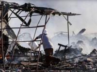 ВМексике произошелвзрыв наскладе пиротехники