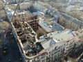 Пожар в Одессе: появились фото работы спасателей в завалах