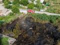 В Днепре среди сгоревшей травы нашли человеческие останки
