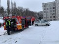 В Ровно горело здание облсовета