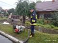 Ливни подтопили город Сарны в Ровенской области