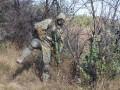На границе с РФ на фугасе подорвались девять бойцов АТО, трое раненных