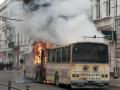 В Тернополе на ходу загорелся троллейбус
