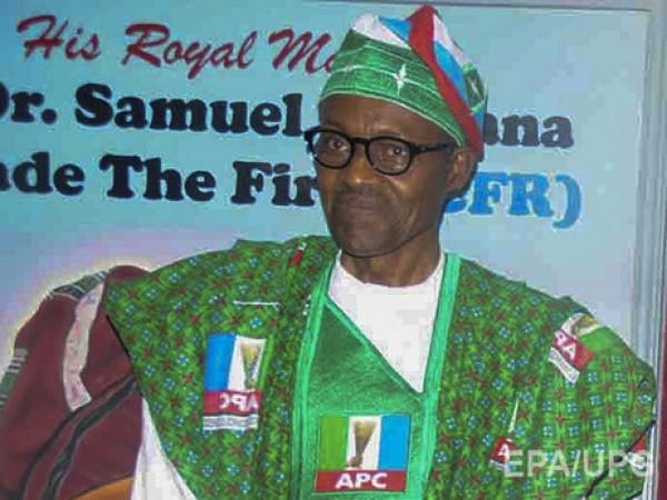 В нигерии на президентских выборах