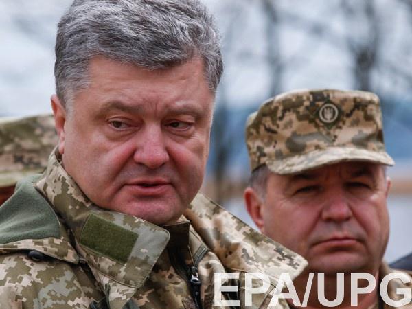 Неподконтрольные территории Донбасса вернуться под контроль Киева, уверен Полторак