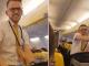Бортпроводник Ryanair устроили эротический танец во время полета