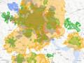 В Украине появилась интерактивная карта 3G покрытия