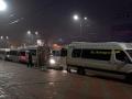 В Сумах ночью 30 хулиганов резали колеса маршруток