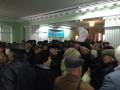 В Полтаве митингующие ворвались в горсовет и пытались поймать мэра