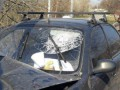 В Днепре автомобиль влетел в электроопору