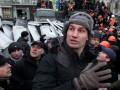 Кличко на Грушевского призвал стороны приостановить противостояние и ушел на переговоры к Януковичу