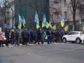 Нет рынку земли!: В Киеве протестует Нацкорпус, аграрии и фермеры