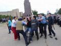 Митинги в Харькове: драка, разгон активистов и разбитые головы (фото, видео)