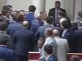 Парасюк устроил драку в раде после важного голосования