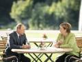 Путин и Меркель обсудили Украину и Северный поток