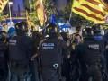 Каталонцы протестуют из-за отмены референдума о независимости